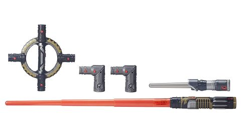 """<strong>Star Wars BladeBuilders Spin-Action Lightsaber ($19.98, originally $49.99; </strong><a href=""""https://amzn.to/2VcrGaw"""" target=""""_blank"""" target=""""_blank""""><strong>amazon.com</strong></a><strong>)</strong><br />"""