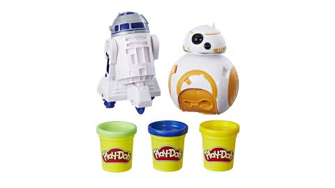 """<strong>Play-Doh Star Wars BB-8 and R2-D2 ($15.94, originally $16.99; </strong><a href=""""https://amzn.to/2Y5pjTO"""" target=""""_blank"""" target=""""_blank""""><strong>amazon.com</strong></a><strong>)</strong><br />"""