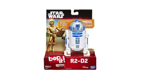 """<strong>Hasbro Gaming Star Wars Bop It Game ($9.34, originally $16.99; </strong><a href=""""https://amzn.to/2WmtXwn"""" target=""""_blank"""" target=""""_blank""""><strong>amazon.com</strong></a><strong>)</strong><br />"""