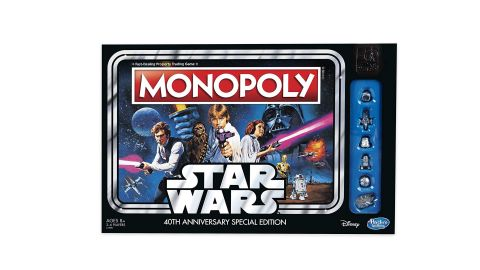 """<strong>Hasbro Gaming Monopoly Game: Star Wars 40th Anniversary Special Edition ($21.79, originally $21.99; </strong><a href=""""https://amzn.to/2PMz4TP"""" target=""""_blank"""" target=""""_blank""""><strong>amazon.com</strong></a><strong>)</strong><br />"""