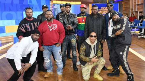 """Wu-Tang Clan perform live on ABC's """"Good Morning America"""" on November 9, 2018."""