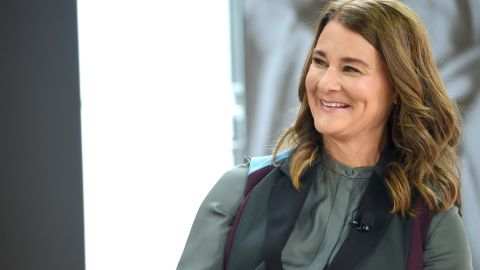 NEW YORK, NY - SEPTEMBER 20:  Bill & Melinda Gates Foundation co-founder Melinda Gates speaks speaks at Goalkeepers 2017, at Jazz at Lincoln Center on September 20, 2017 in New York City.  Goalkeepers is organized by the Bill & Melinda Gates Foundation to highlight progress against global poverty and disease, showcase solutions to help advance the Sustainable Development Goals (or Global Goals) and foster bold leadership to help accelerate the path to a more prosperous, healthy and just future.  (Photo by Jamie McCarthy/Getty Images for Bill & Melinda Gates Foundation)