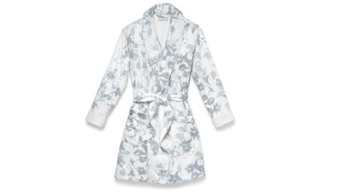 """<strong>Boll & Branch Modern Floral Spa Robe ($125; </strong><a href=""""https://www.bollandbranch.com/products/modern-floral-spa-robe"""" target=""""_blank"""" target=""""_blank""""><strong>bollandbranch.com</strong></a><strong>) </strong>"""