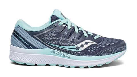 """<strong>Saucony Women's Guide ISO 2 Sneaker ($120; </strong><a href=""""https://www.saucony.com/en/guide-iso-2/35053W.html?dwvar_35053W_color=S10464-1#cgid=womens-guide-iso-2&start=1"""" target=""""_blank"""" target=""""_blank""""><strong>saucony.com</strong></a><strong>) </strong>"""