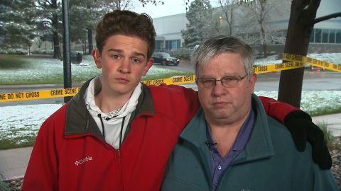 Chris Elledge Colorado shooting survivor New Day