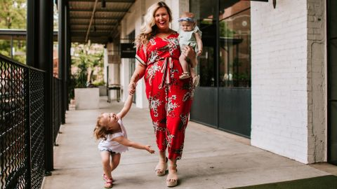 Ashley Dorough started blogging because she was tired of not seeing anyone that loooked like her.