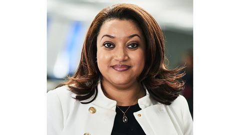 Valerie Moran, who owns a 16.3% share in Prepaid Financial Services, has been named as the sole black female included in The Sunday Times' annual Rich List.