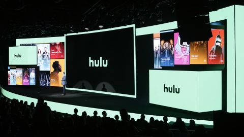 NEW YORK, NEW YORK - MAY 01:  Hulu CEO Randy Freer speaks onstage during the Hulu '19 Presentation at Hulu Theater at MSG on May 01, 2019 in New York City. (Photo by Lars Niki/Getty Images for Hulu)