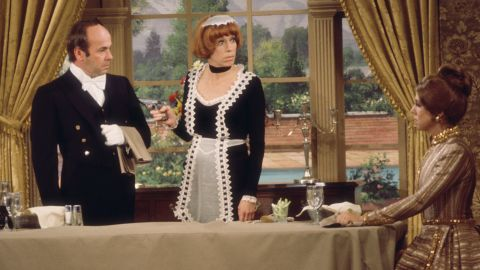 Tim Conway, Carol Burnett, Vicki Lawrence in 'The Carol Burnett Show' (Photo by CBS via Getty Images)