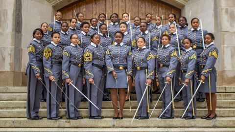 32 African American women were with the Class of 2019, the most in the United States Military Academy's history.