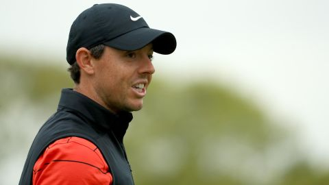 Rory McIlroy is chasing a fifth major title in the US PGA at Bethpage, New York.
