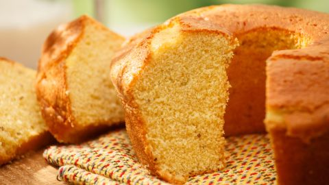 <strong>Brazil:</strong> Bolo de fuba is a cornbread-style cake with a moist and creamy texture that comes from the addition of grated Parmesan cheese and/or shredded coconut.