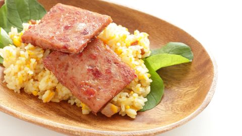 <strong>Guam:</strong> Spam is a favorite add-in for breakfasts of fried rice and eggs.