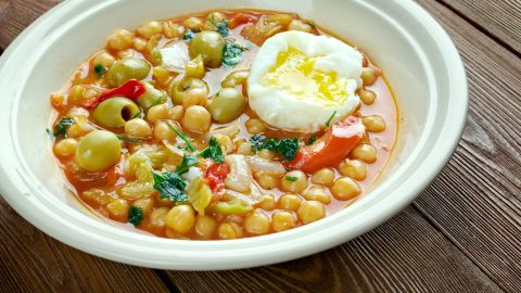 <strong>Tunisia:</strong> Lablabi is a spiced chickpea soup that, yes, is a breakfast food in this part of the world.
