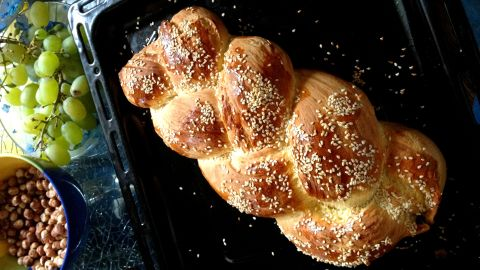 <strong>Switzerland: </strong>Zopf, a braided egg bread similar to challah or brioche, is the centerpiece of Swiss brunch.