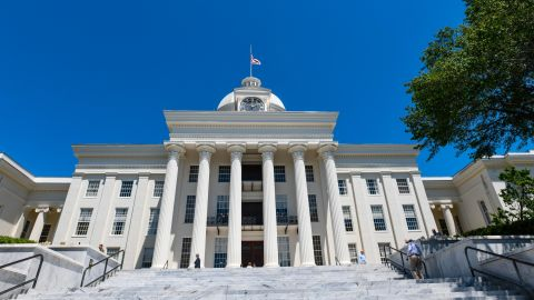 MONTGOMERY, AL - MAY 15: The Alabama State Capitol stands on May 15, 2019 in Montgomery, Alabama. Today Alabama Gov. Kay Ivey signed a near-total ban on abortion into state law. (Photo by Julie Bennett/Getty Images)