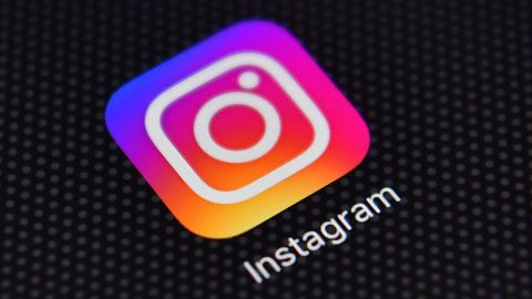 The Instagram app on an iPhone on August 3, 2016 in London, England.
