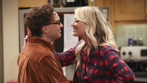 Penny and Leonard had some news to share in the series finale of 'The Big Bang Theory.'