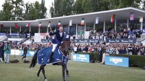 <strong>Madrid:</strong> Fuchs rode Chaplin to victory in the Longines Global Champions Tour Grand Prix, as well as partnering Maher to win the Global Champions League title for the London Knights.