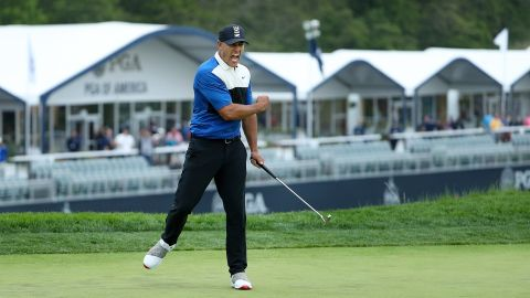 The 29-year-old clinched his fourth major in eight events after overcoming a late wobble at Bethpage.