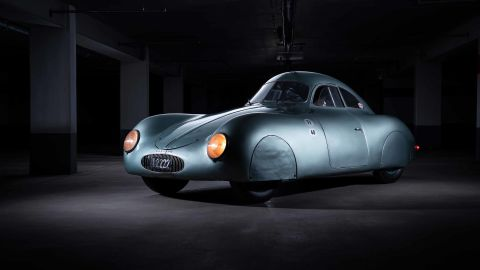 From press release:  RM Sotheby's is honored to announce it has secured the oldest car to wear the Porsche badge for its record-setting Monterey sale—the only surviving 1939 Porsche Type 64 Berlin-Rome, No. 3.
