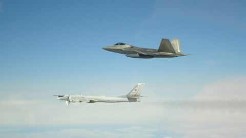 NORAD Command: NORAD fighters intercepted Russian bombers and fighters entering Alaskan ADIZ May 20.