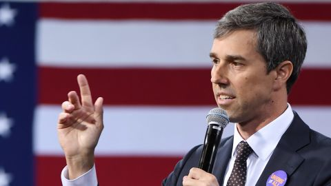 Democratic presidential candidate Beto O'Rourke is set to visit Mexico on Sunday in an effort to highlight the conditions facing migrants seeking asylum in the United States.