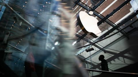 FILE -- The Apple store in the SoHo neighborhood of New York, Aug. 2, 2018. Apple is one of several prominent tech companies currently facing antitrust scrutiny in the US and Europe. (Emma Howells/The New York Times)