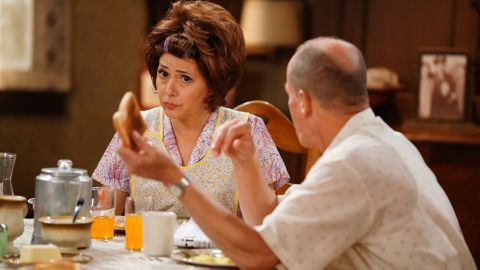 """Marisa Tomei played Edith Bunker in ABC's live presentation of """"All in the Family."""""""
