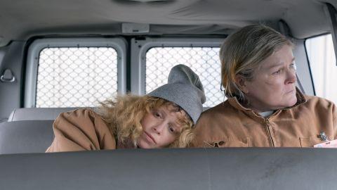 Nathasha Lyonne and Kate Mulgrew in 'Orange Is the New Black'