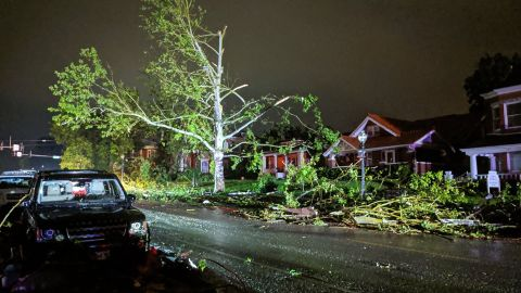 The tornado caught sleeping residents off guard late Wednesday night in Jefferson City, Missouri.