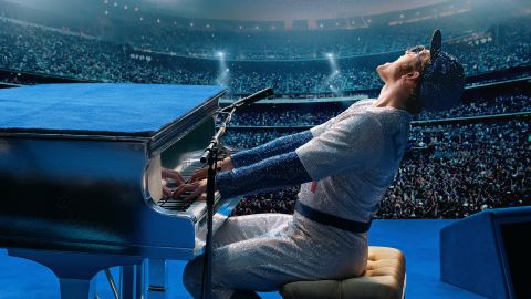 """(May 31) -- Elton John gets a slightly different kind of biographical treatment than """"Bohemian Rhapsody"""" in this jukebox musical, which uses the rock star's songs to tell the story of his life, including dealing with his sexuality and a whole lot of drug use. Taron Egerton disappears into the role of John, with Jamie Bell as his lyricist partner Bernie Taupin and Richard Madden (""""Game of Thrones"""") as John's manager and (for a time) love interest, John Reid."""