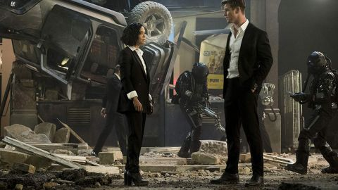 """(June 14) Chris Hemsworth and Tessa Thompson resurrect the """"Men in Black"""" franchise with F. Gary Gray in the director's chair. Hemsworth and Thompson were previously seen in the Marvel Cinematic Universe together, which leads us to believe this is going to be a super pairing."""