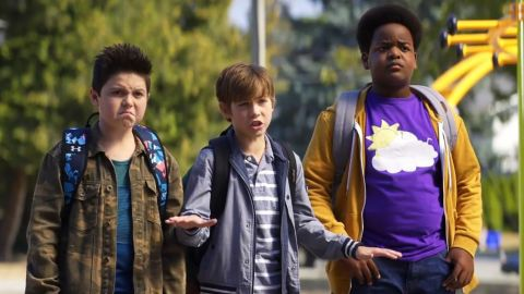 """(August 16) - This one is being described as """"Superbad"""" for sixth-graders, so buckle up for three 12-year-olds with a penchant for swearing and  intrigued by sex, drugs and alcohol. The trio embarks on some shenanigans that is sure to make parents of middle-schoolers check their phones to see what they're kids are up to. We suspect this  could also be a sweet and comical coming-of-age film."""