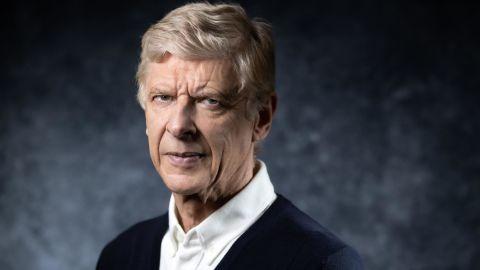 TOPSHOT - Former Arsenal manager Arsene Wenger of France poses during a photo session in Paris on May 22, 2019. (Photo by JOEL SAGET / AFP)        (Photo credit should read JOEL SAGET/AFP/Getty Images)