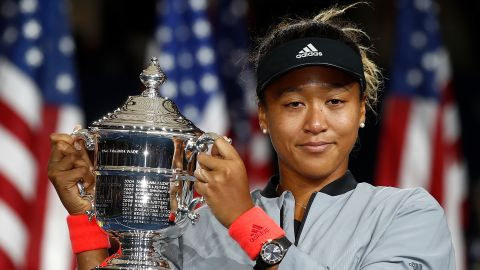 Naomi Osaka beat Serena Williams to clinch the US Open title in September 2018.