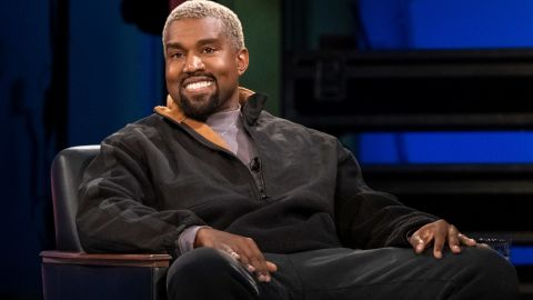 In a surprise appearance, West suggested he may make the name change for a year.
