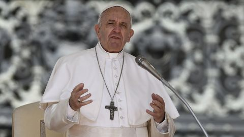 Pope Francis has compared having an abortion to hiring a 'hitman' while speaking at an anti-abortion conference in Rome.