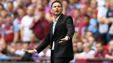 Derby County reached the Championship playoff finals under Lampard.