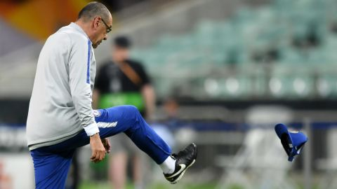 The Italian manager had a turbulent spell at the London club.