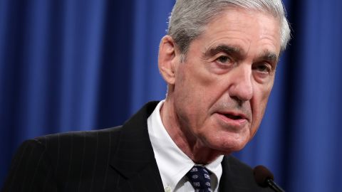 WASHINGTON, DC - MAY 29: Special Counsel Robert Mueller makes a statement about the Russia investigation on May 29, 2019 at the Justice Department in Washington, DC. Mueller said that he is stepping down as special counsel and that the report he gave to the attorney general is his last words on the subject. (Photo by Chip Somodevilla/Getty Images)