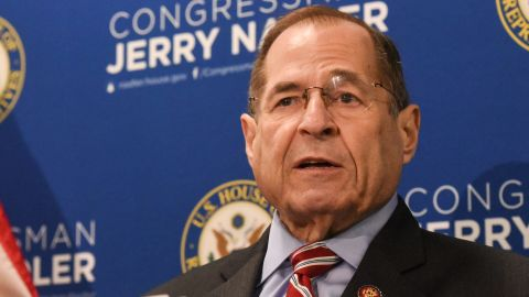 House Judiciary Chairman Jerry Nadler, a New York Democrat, speaks to members of the press in May in New York City. (Photo by Stephanie Keith/Getty Images)