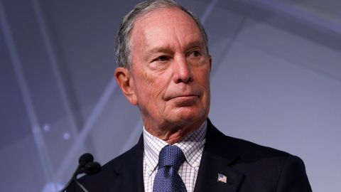 Michael Bloomberg, billionaire and former Mayor of New York City, speaks at CityLab Detroit, a global city summit, on October 29, 2018 in Detroit, Michigan.