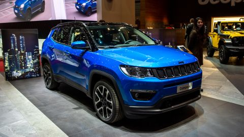 The Jeep Compass doesn't look like a Wrangler but it does come in a Trail Rated off-road version.