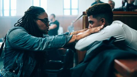 Ava DuVernay on the set of 'When They See Us'