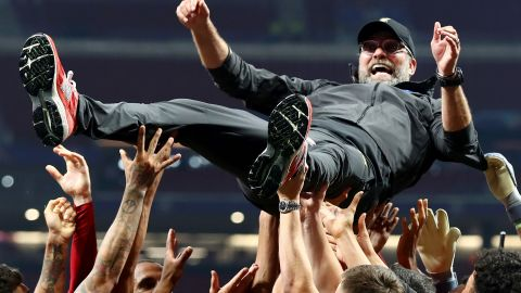 Liverpool manager Jurgen Klopp earned his first Champions League final win and broke his spell of six consecutive defeats in major finals.