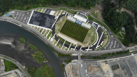 <strong>What:</strong> Kamaishi Recovery Memorial Stadium<br /><strong>Capacity:</strong> 16,334<br /><strong>Where: </strong>Kamaishi City, Iwate Prefecture<br /><strong>Matches:</strong> Fiji vs Uruguay; Namibia vs Canada