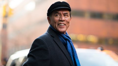 Wes Studi, who is of Cherokee descent, will be honored at the Governors Awards in October.