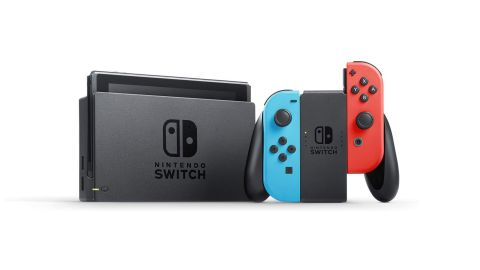 """<a href=""""https://amzn.to/2WrXsRm"""" target=""""_blank"""" target=""""_blank"""">Nintendo's Switch</a> has become a wildly successful console, and rightfully so. For under $300 you're getting a handheld that can easily switch to a full-on TV console. There are also countless titles like Mario Kart, Super Mario Maker and Zelda, to name just a few. ($299; <a href=""""https://amzn.to/2WrXsRm"""" target=""""_blank"""" target=""""_blank"""">amazon.com</a>)"""