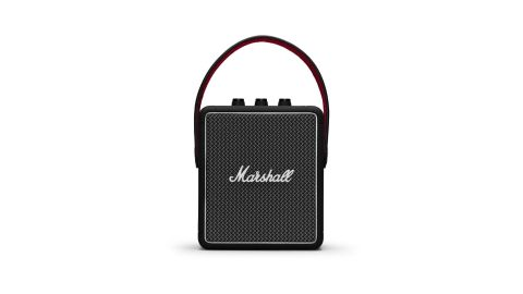 """Marshall's <a href=""""http://redirect.viglink.com?type=bk&opt=false&u=https%3A%2F%2Fwww.marshallheadphones.com%2Fus%2Fen%2Fstockwell-ii.html&key=ed7eb6546c416eb284920d7a87c6d8c4"""" target=""""_blank"""" target=""""_blank"""">Stockwell II</a> might look tiny, but it packs a punch as a Bluetooth speaker. You get a dedicated volume control, plus the ability to change the bass and treble. And it looks like a classic Marshall amp paired with a carrying strap. ($249.95; <a href=""""http://redirect.viglink.com?type=bk&opt=false&u=https%3A%2F%2Fwww.marshallheadphones.com%2Fus%2Fen%2Fstockwell-ii.html&key=ed7eb6546c416eb284920d7a87c6d8c4"""" target=""""_blank"""" target=""""_blank"""">marshallheadphones.com</a>)"""